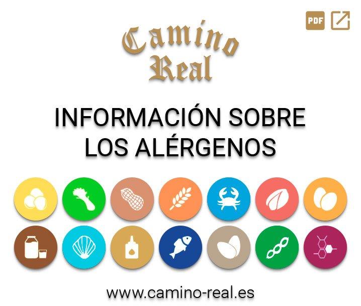Información sobre los alérgenos - Camino Real